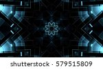 futuristic background | Shutterstock . vector #579515809