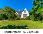 big custom made luxury house... | Shutterstock . vector #579525838