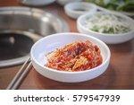 korean food | Shutterstock . vector #579547939
