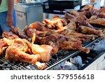 Bbq Turkey Legs On The Grill