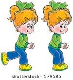 girl | Shutterstock . vector #579585