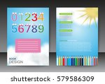 business brochure template. | Shutterstock .eps vector #579586309