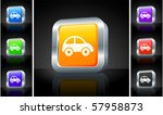 car icon on 3d button with... | Shutterstock .eps vector #57958873