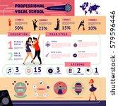 musical education infographic... | Shutterstock .eps vector #579596446