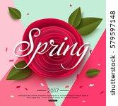 Spring Rose Paper Flower