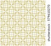 art deco seamless background. | Shutterstock .eps vector #579610270