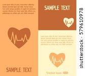 heart pulse icon | Shutterstock .eps vector #579610978