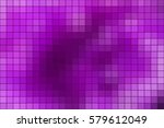 abstract square mosaic tile... | Shutterstock . vector #579612049