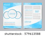 business brochure design.modern ... | Shutterstock .eps vector #579613588
