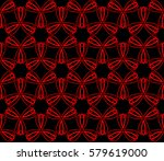 abstract repeat backdrop.... | Shutterstock . vector #579619000