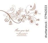 floral illustration | Shutterstock .eps vector #57962023