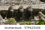 Three Statues Forming A...