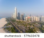 abu dhabi downtown view from...   Shutterstock . vector #579633478