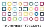 mega set of decorative photo... | Shutterstock .eps vector #579633958
