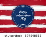 4 of july usa independence day... | Shutterstock .eps vector #579648553