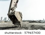 close up of a construction site ...   Shutterstock . vector #579657430