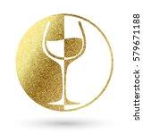 Wine Logo In Gold