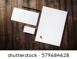 photo of blank corporate... | Shutterstock . vector #579684628