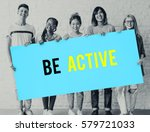 be active physical activity... | Shutterstock . vector #579721033