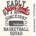 t shirt printing design ... | Shutterstock .eps vector #579731404