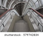 ladder in the tunnel | Shutterstock . vector #579742834