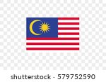 an illustrated country flag of  ... | Shutterstock .eps vector #579752590