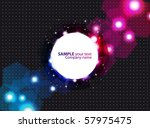 abstract colorful background.... | Shutterstock .eps vector #57975475