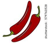 cartoon vector illustration of... | Shutterstock .eps vector #579763528
