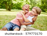Two Boys Have Fun Park - Fine Art prints
