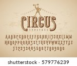 decorative vintage circus... | Shutterstock .eps vector #579776239