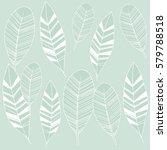 ethnic vector pattern. hand... | Shutterstock .eps vector #579788518