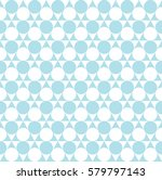 abstract  blue geometric dots... | Shutterstock .eps vector #579797143