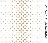 Halftone Gold Diamond Geometri...
