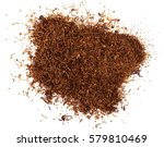 Pile Tobacco Isolated On White...