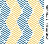 seamless vector abstract... | Shutterstock .eps vector #579810889
