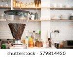 Coffee Grinder Preparing To...