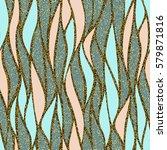 seamless vector abstract wave... | Shutterstock .eps vector #579871816