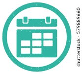 calendar grainy textured icon...   Shutterstock . vector #579889660