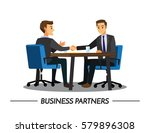 businesss and office concept  ... | Shutterstock .eps vector #579896308