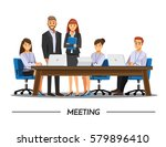 business people teamwork ... | Shutterstock .eps vector #579896410