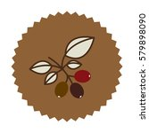 coffee tree icon image design ... | Shutterstock .eps vector #579898090