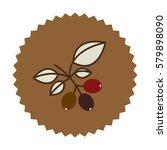 coffee tree icon image design ... | Shutterstock .eps vector #579898090