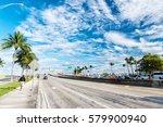 miami highway or public road... | Shutterstock . vector #579900940