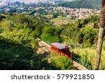 funicular | Shutterstock . vector #579921850