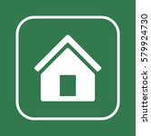 home   icon  isolated. flat ...   Shutterstock .eps vector #579924730