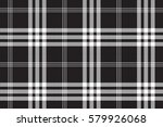 black and white check pixel... | Shutterstock .eps vector #579926068
