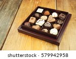 box of chocolates | Shutterstock . vector #579942958