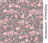 elegant gentle trendy pattern... | Shutterstock .eps vector #579963016