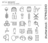 Big Set Symbols Of Brewery....