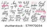 lettering photography overlay... | Shutterstock .eps vector #579970054